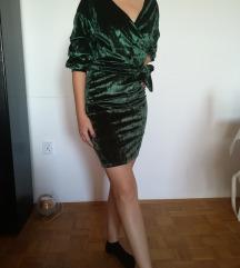 Tamno zelena haljina 36