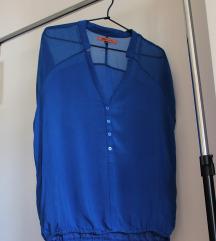 Žarko plava bluza