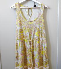 H&M zuta haljinica