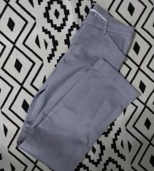 MANGO sive poslovne hlače 40