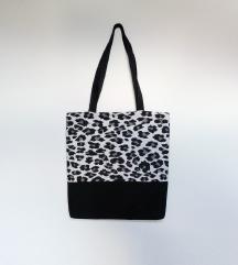 Leopard torba - handmade