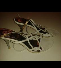 Bijele sandale 37