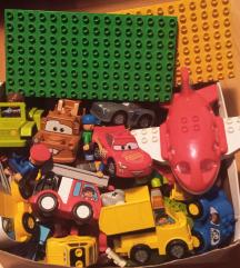Lego duplo Cars, Šlep plus kockice