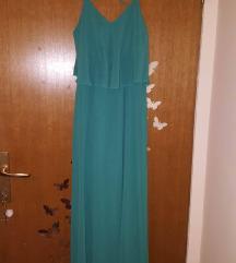 Nova zelena duga haljina