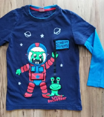 Kik majica astronaut - vel.122 - 10 kn ili zamjena
