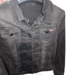 Crna traper jaknica S/M