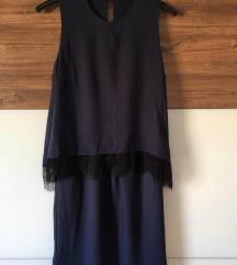 Svečana tamnoplava Esprit haljina