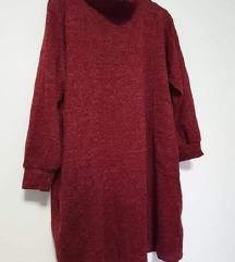 Nova Image Haddad haljina/tunika s ovratnikom S-XL