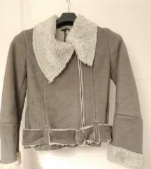Avijatičarska/Motoristička jakna s krznom
