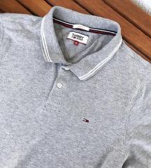 TOMMY HILFIGER siva polo majica ORIGINAL