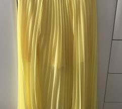 Zara plisirana suknja