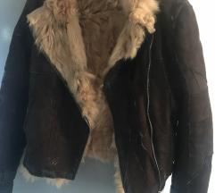 Kožna jakna ( topla )