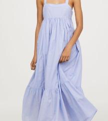 KUPUJEM H&M trend maxi plavu haljinu