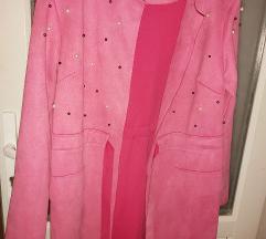 NOVI kaput pink