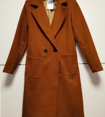 Novi smeđi kaput S-M