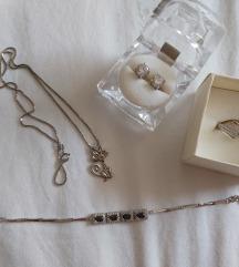 Srebrni nakit-zajedno ili zasebno