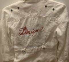 Bijela tanka Desigual jakna