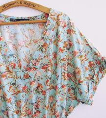 Zara ljetna haljina s cvjetnim printom