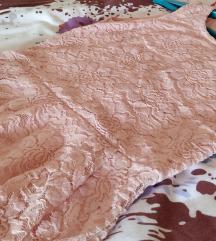 Romantični baby pink top
