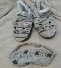 NOVE papuče i povez za oči