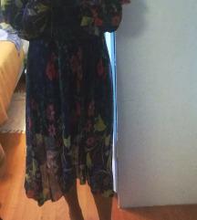 Zara midi haljina SNIŽENO 150