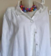 Lanena bijela košulja