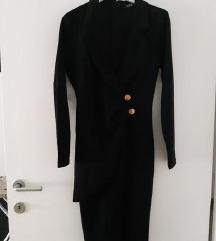 NOVO crna poslovna odijelo haljina