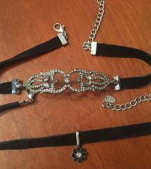 Zara čoker ogrlice