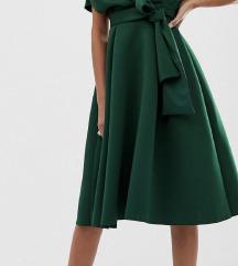 NOVO! Asos zelena haljina