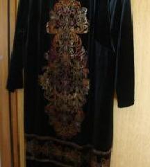 Plišana haljina i hlače br. 46