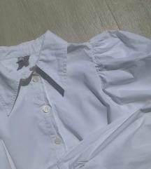 ASOS košulja sa HIT puf rukavima premium pamuk