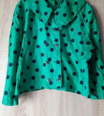 Zelena točkasta košulja