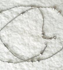 ogrlica pravo srebro 925 94 cm duga