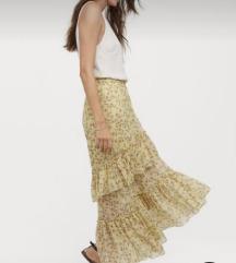 H&M duga suknja