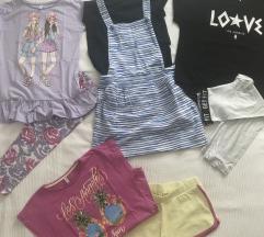 Ljetni lpt odjeće za djevojčicu,vel.135/140