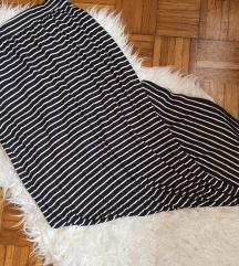 Zara maxi suknja s prorezom S/M