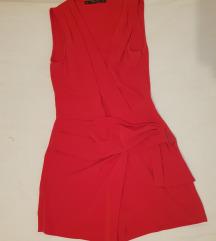 Zara crveni kombinezon
