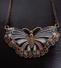 Lančic s leptirom NOVO