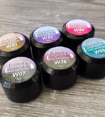 6 novih uv Glitter gelova za nokte