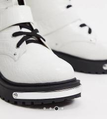 Missguided bijele čizme