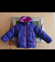 Ljubičasta H&M jakna s kapuljačom za curice br. 92