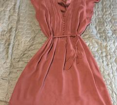 Bordo kratka haljina