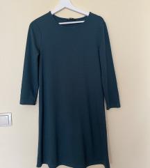 Stradivarius zelena haljina
