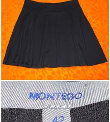 Montego - a-line viscose skirt - 42 / 44