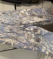 Ljetne široke cvjetne hlače