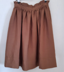 H&M smeđa suknja