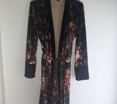 Viva couture velvet kimono
