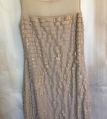 Puder zlatna haljina Orsay