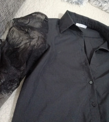 RESERVED bluza s čipkanim rukavima