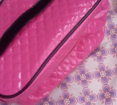 Kozmetička torbica, lak roza, VEĆA